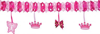 Festone in carta da principessa