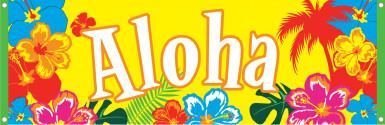 Il banner Aloha Hawaii