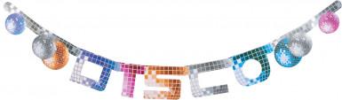 Striscione con lettere disco