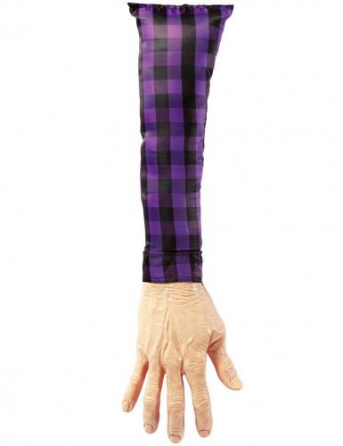 Braccio finto in plastica e tessuto