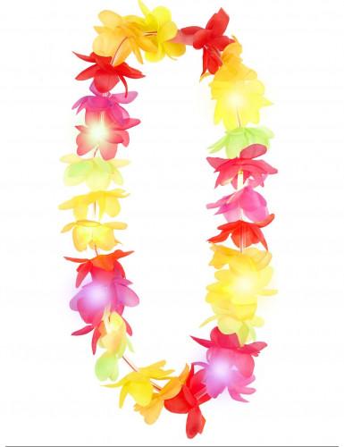 Collana Hawai colorata e luminosa-1