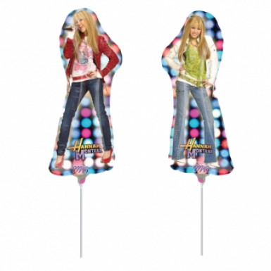 Palloncino alluminio Hannah Montana™ 45 cm