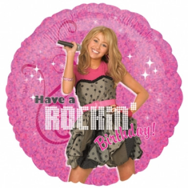 Palloncino alluminio rotondo Hannah Montana™