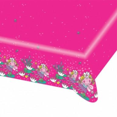 Tovaglia con fatine rosa