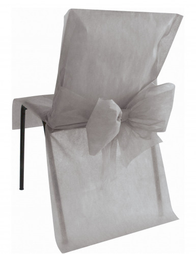 10 coprisedie Premium colore grigio