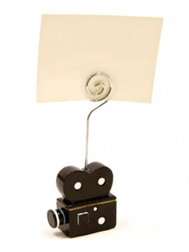 1 segnaposto a forma di macchina da presa cinematografica