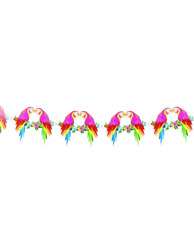 Ghirlanda con pappagalli Hawaii