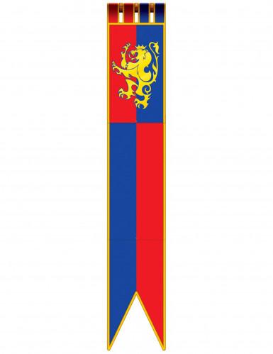 Vessillo decorativo in stile medievale