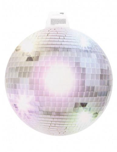 Decorazione murale sfera specchiata da discoteca-1