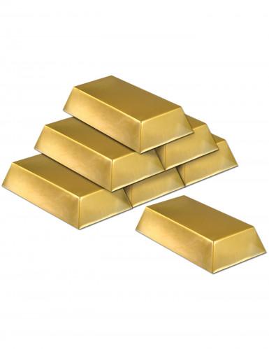 Confezione da sei lingotti d'oro