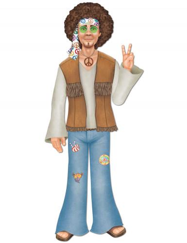 Sagoma gigante hippie