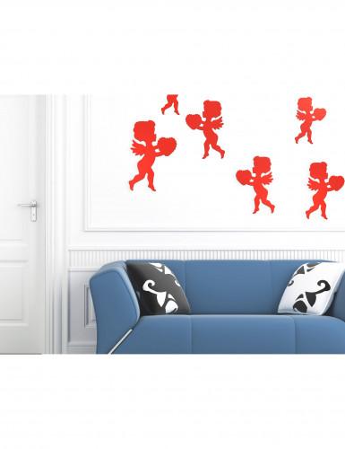 Decorazione San Valentino cupido rosso-1