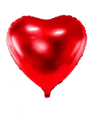 Palloncino alluminio rosso a cuore