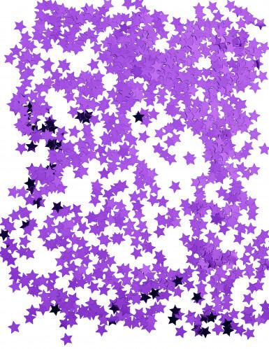 Stelline metalliche viola Natale-1