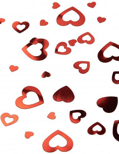 Coriandoli a cuori rossi San Valentino