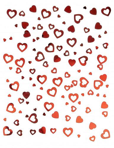 Coriandoli a cuori rossi San Valentino-1
