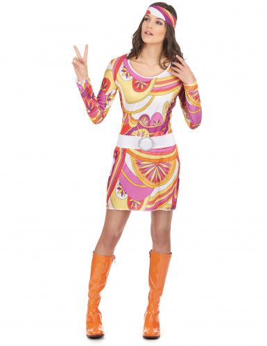 Costume carnevale donna hippy