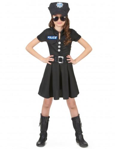 Costume da agente di polizia per bambina