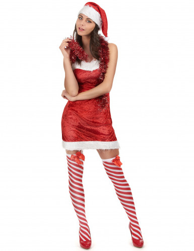 Costume mamma Natale sexy per donna