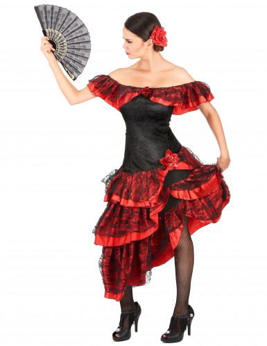Costume da danzatrice di flamenco.