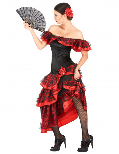 Costume da danzatrice di flamenco.-1