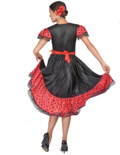 Costume per donna danzatrice Flamenco-2