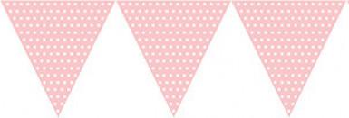 Festone di carta rosa