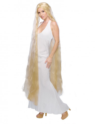 Parrucca donna da principessa capelli lunghi