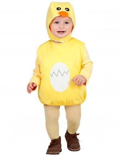 Costume da pulcino per bebè