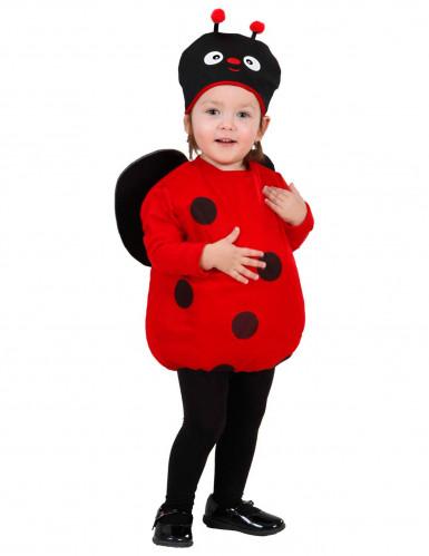 Costume per bambina da coccinella