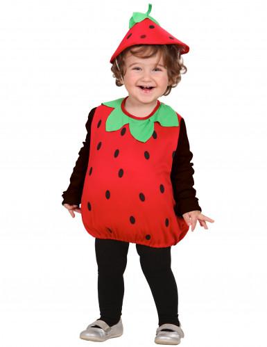 Costume da fragola per bambini