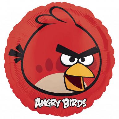 Palloncino rosso Angry Birds™in alluminio