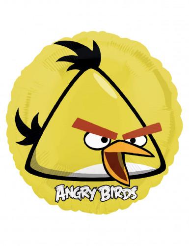 Palloncino giallo originale Angry Birds in alluminio