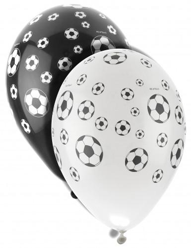 8 palloncini in lattice calcio