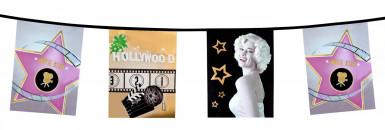 Striscione di carta Hollywood