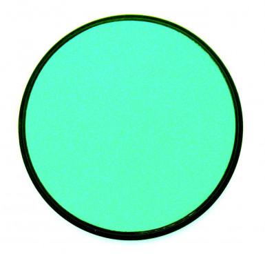 Fard colore blu turchese per viso e corpo
