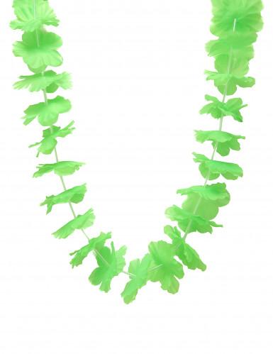 Collana Hawai di colore verde