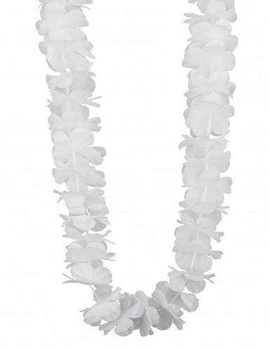 Collana Hawaiana Bianca