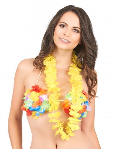 Collana Hawaiana Gialla-1
