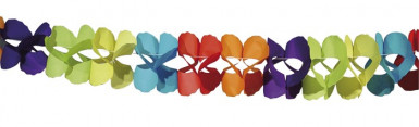 Ghirlanda di carta colorata