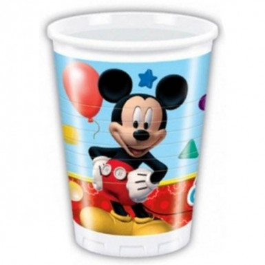 8 bicchieri Mickey Mouse™