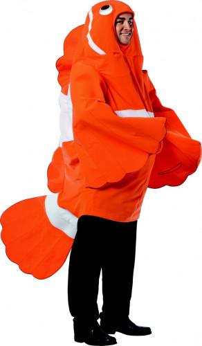 Costume carnevale pesce clown adulto