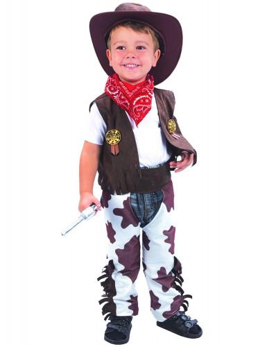 Costume da cowboy di lusso per bambino
