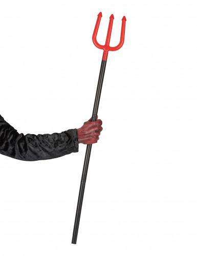 Forca da diavolo rossa con manico nero-1