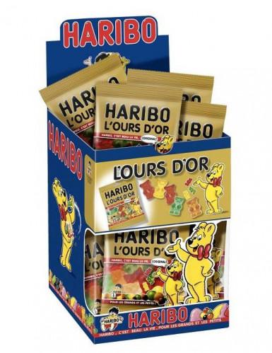 Caramelle Haribo orsi dorati in mini sacchetto