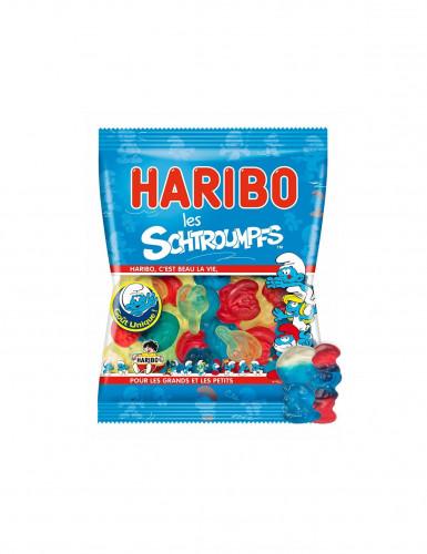 Mini sacchetto di caramelle Haribo puffetti-1