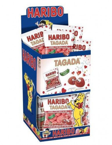 Mini pacchetto di caramelle Haribo tagada