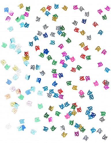 Coriandoli multicolore da tavola 18-1