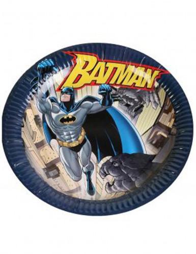 6 variopinti piatti di cartone Batman™