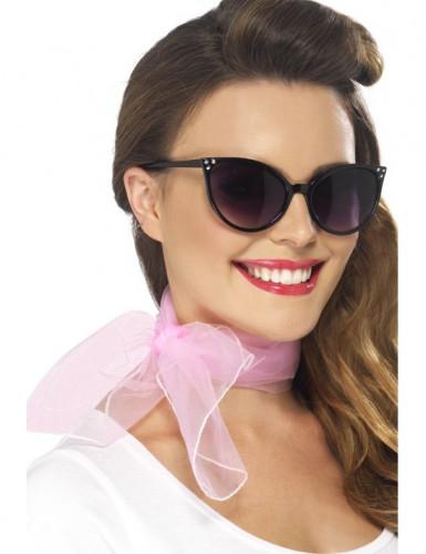 Foulard da donna color rosa